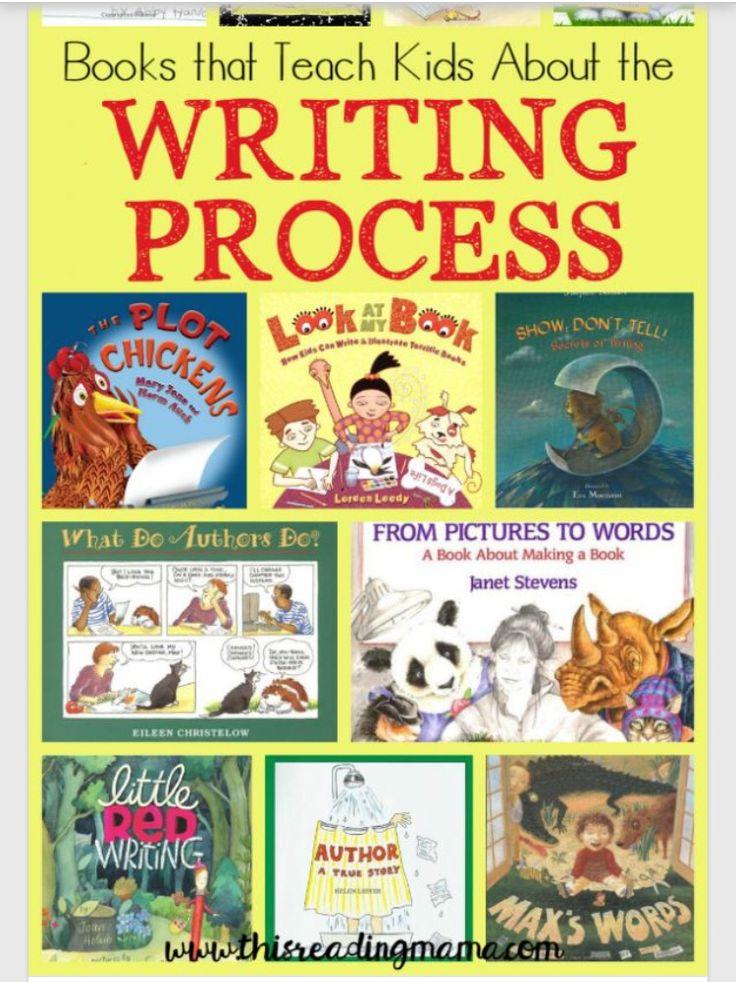 Books that teach the writing process