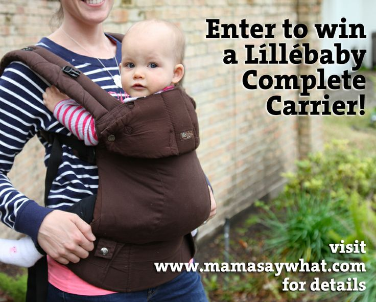 Lillebaby Carrier Giveaway