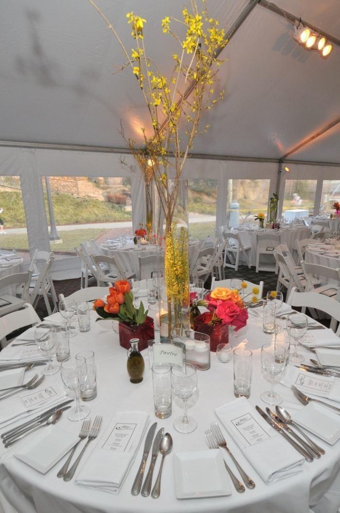 17 meilleures id es propos de table ronde de mariage sur pinterest pi ces - Deco table ronde mariage ...
