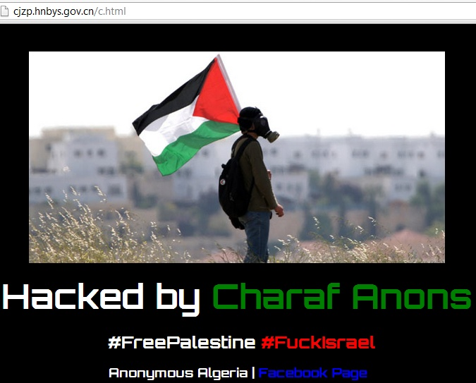 906 Chinese and 700 other Websites got hacked by Charaf Anons