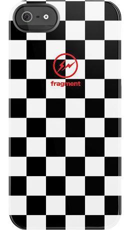 Fragment BW Checkers case by Hiroshi Fujiwara