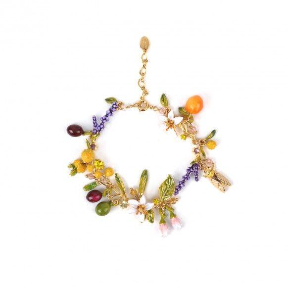 Bracelet bouquet du jardin de provence