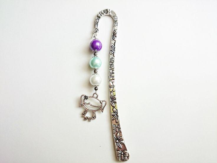Geschenke für Frauen - Lesezeichen, Mädchen- 12 cm geschenideen - ein Designerstück von atelier-house-decor bei DaWanda