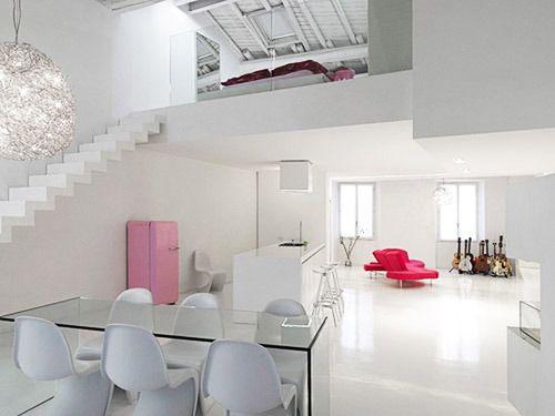 Feuer Modernen Design Rotes Esszimmer  squarezomclub