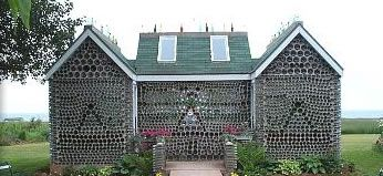 The Bottle House of Prince Edward Island - Route 11, at 6891 in Cap-Egmont, on the North Cape Coastal Drive