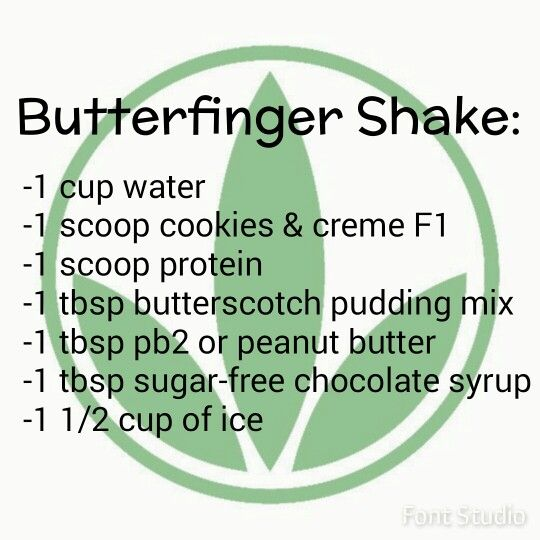 Butterfinger Herbalife Shake                                                                                                                                                     More
