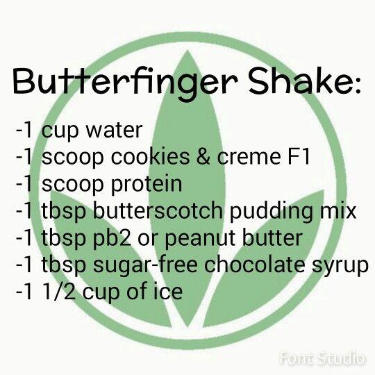 Butterfinger Herbalife Shake