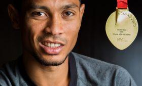 Rio gold, the object of Van Niekerk's desire