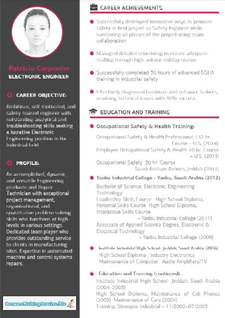 The 25+ best Best resume format ideas on Pinterest Best cv - health and safety engineer sample resume