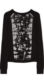 Reed Krakoff Cashmere, merino wool and silk-blend knitted jacquard sweater