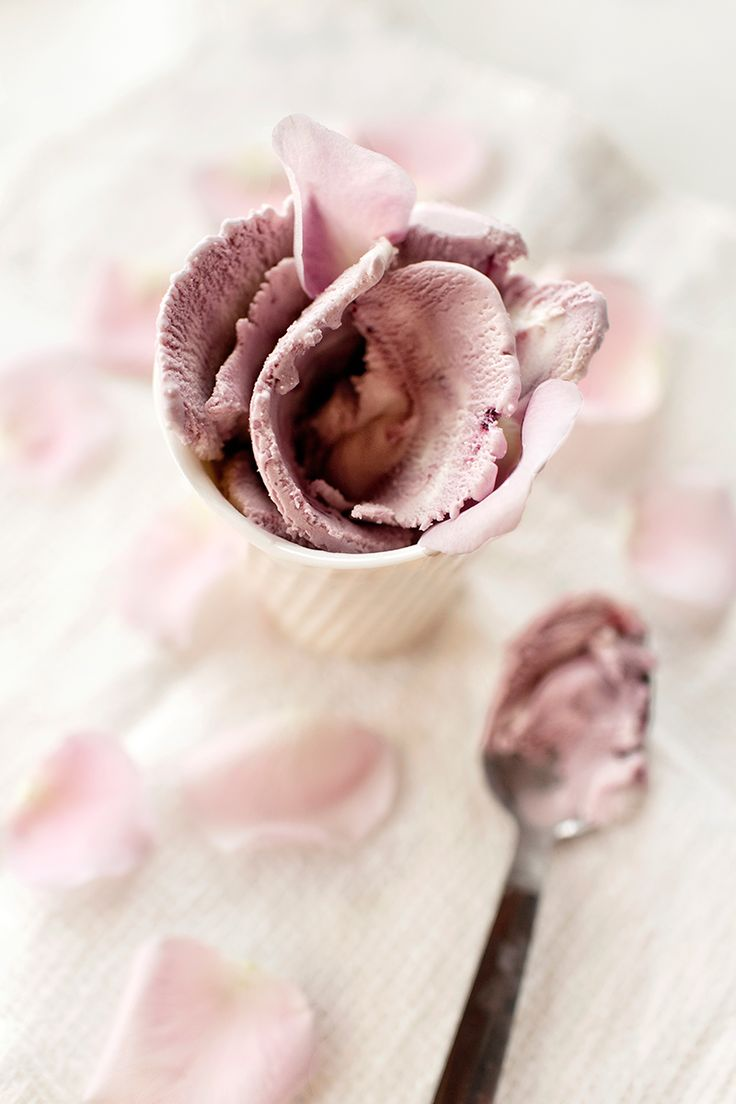 rose cherry ice cream (no dairy, gluten & or refined sugar) | KIND ICE CREAM FOR YOU EBOOK