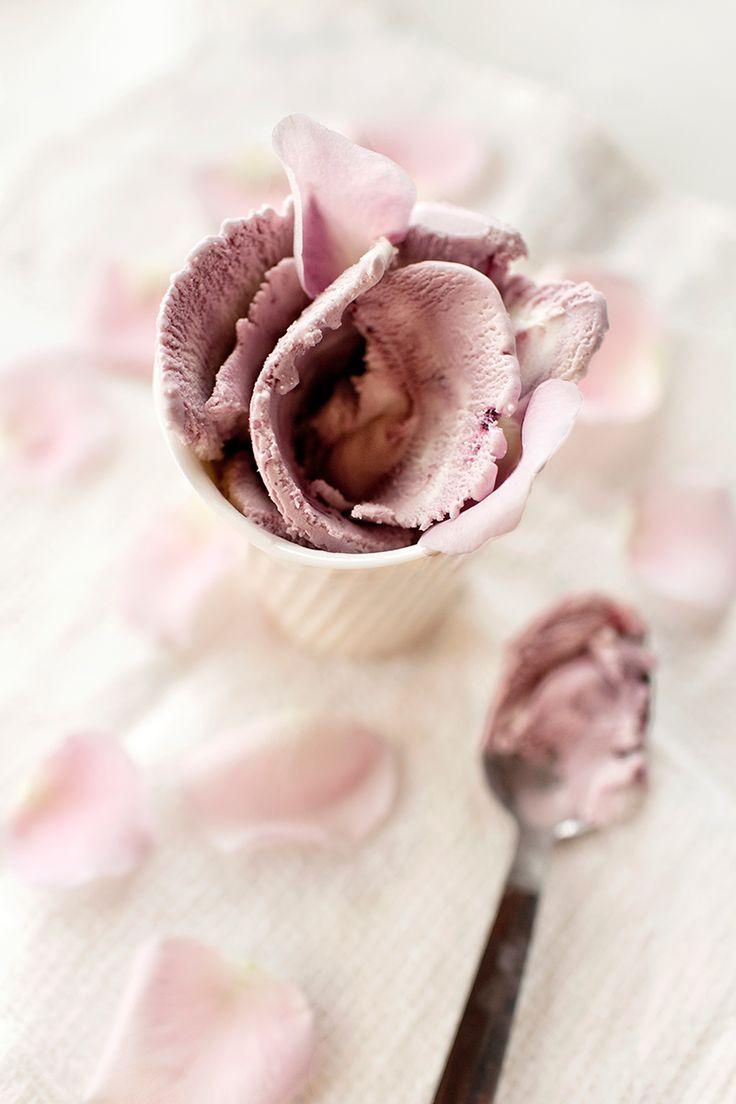 rose cherry ice cream (no dairy, gluten & or refined sugar) | KIND ICE CREAM FOR YOU EBOOK