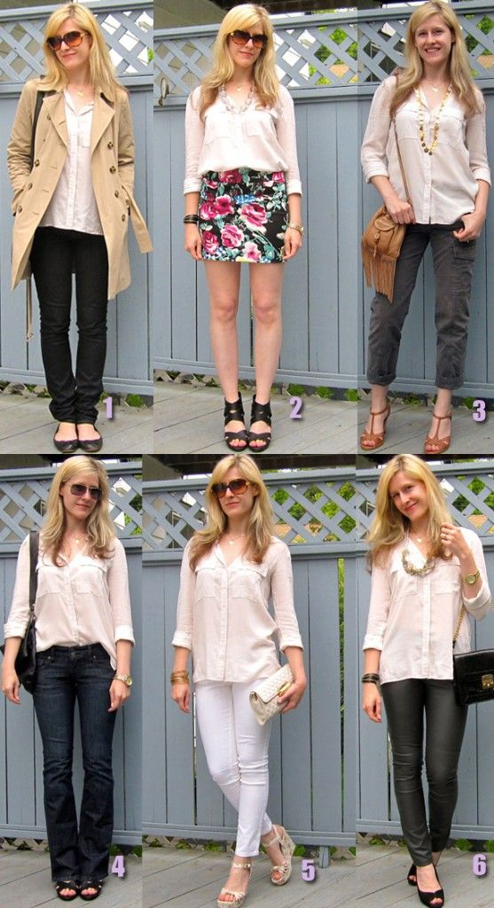 18 best The White Button Down Shirt for Ladies images on Pinterest ...