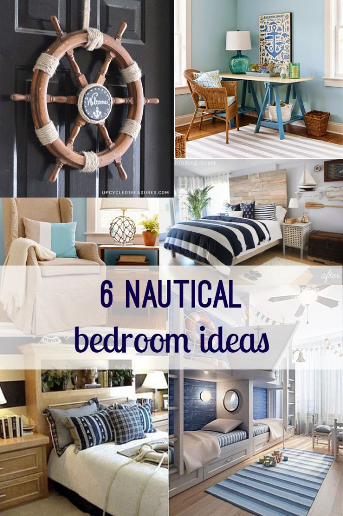 nautical bedroom decor.  Nautical Bedroom Decor Ideas Home Diy Themed Makeover Using Blue And White Decorations Best Free Design Idea Inspiration 25 bedroom decor ideas on Pinterest