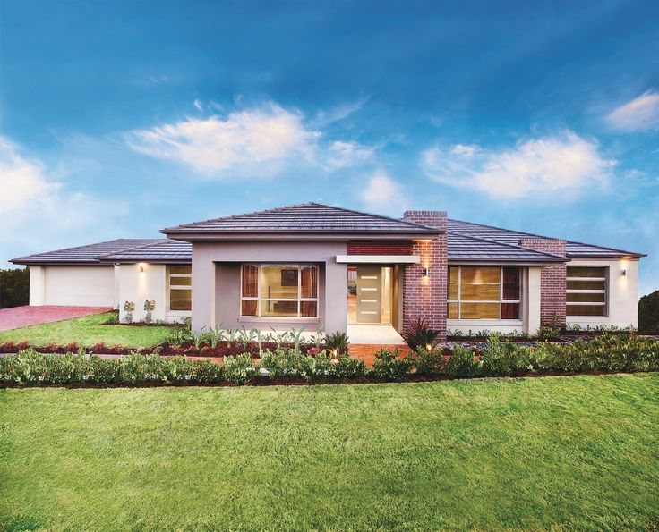 Maitland 40    Big Living Collection    Ranch-style Home    Clarendon Homes