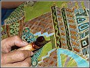 Widya Batik Workshop With WidyaWidya Batik Workshop With Widya