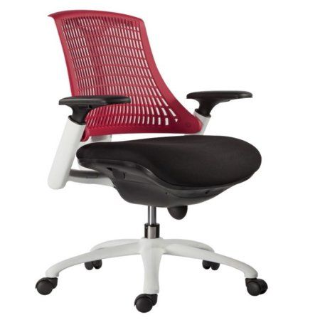 Innovation Red Office Chair, Black