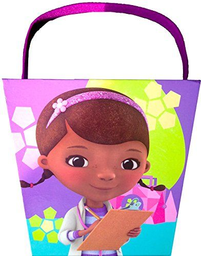 Disney Doc Mc Stuffins Easter Paperboard Bucket Egg Hunting Easter Activities Easter Fun