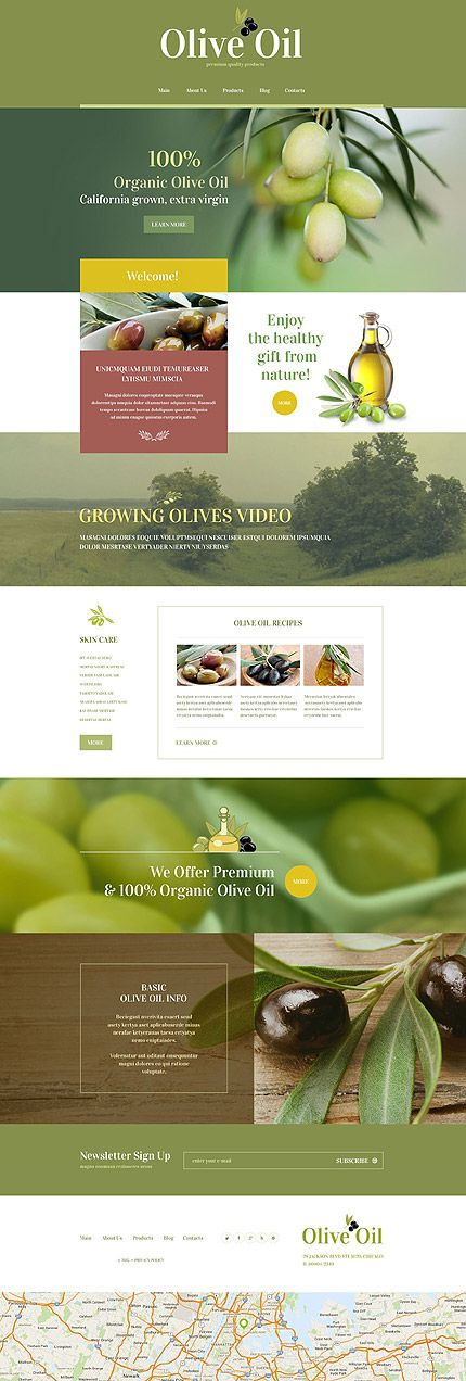 Food & Drink • Most Popular • Espresso Web Inspiration at your Coffee Break! WordPress • Template #55218