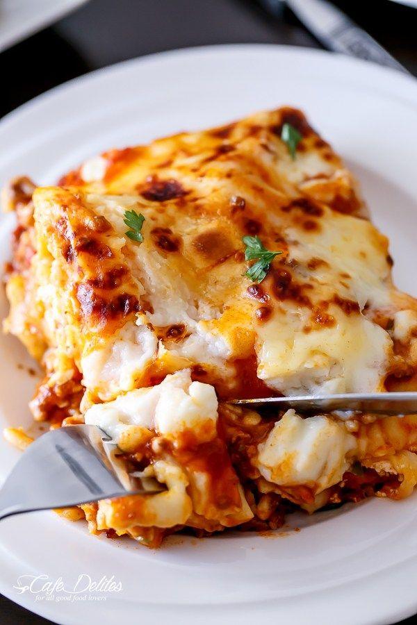 Beef And Pumpkin Lasagna-32