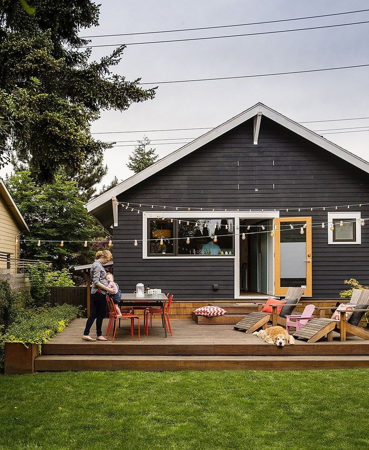 Dreamy Backyard Inspiration | Backyard, Backyard patio ... on Small Back Deck Decorating Ideas id=94316