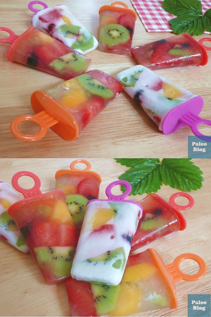 Paleo ovocné nanuky / paleo popsicles