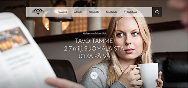Keskisuomalainen By @Team Mango Media Private Limited Via http://www.themangomedia.com/blog/what-is-fullscreen-background-websites-and-its-example-of-fullscreen-website-designs/