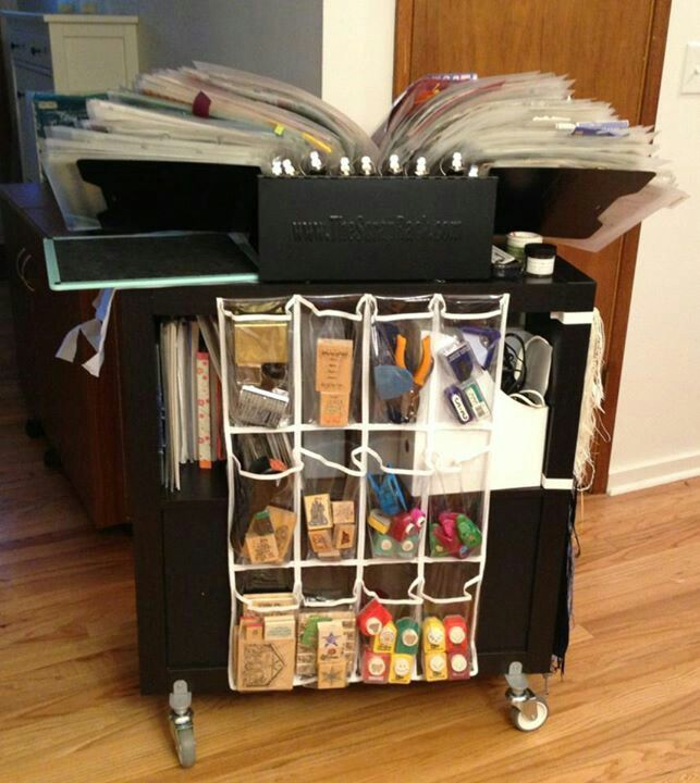 19 best images about scrap rack stuff on pinterest craft for Ikea luggage cart