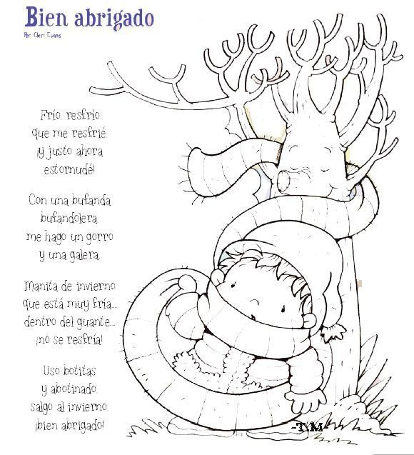 poema de invierno para infantil
