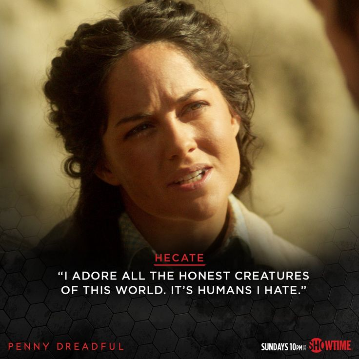 Who knew Hecate had a soft side?  #PennyDreadful
