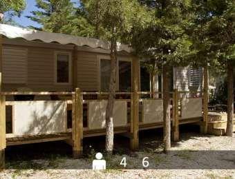 La Pascalinette, Camping Var Hyères La Londe Les Maures location mobile-home Côte d'Azur