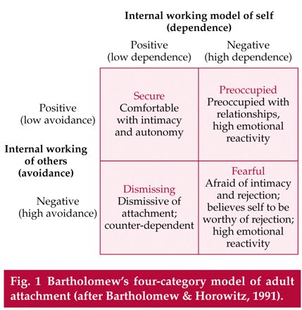 Psychology - internal working model?