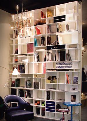 Coleccionista bookcase exclusive furniture ceiling - Exclusive decoration of book shelf ...