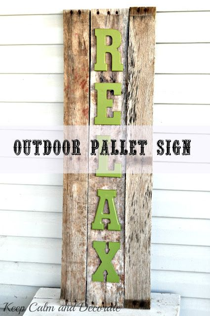 Pallet Wood Name And Bird Sign >> 425 best images about outdoor living{and garden junk} on Pinterest | Gardens, Bicycle rims and ...