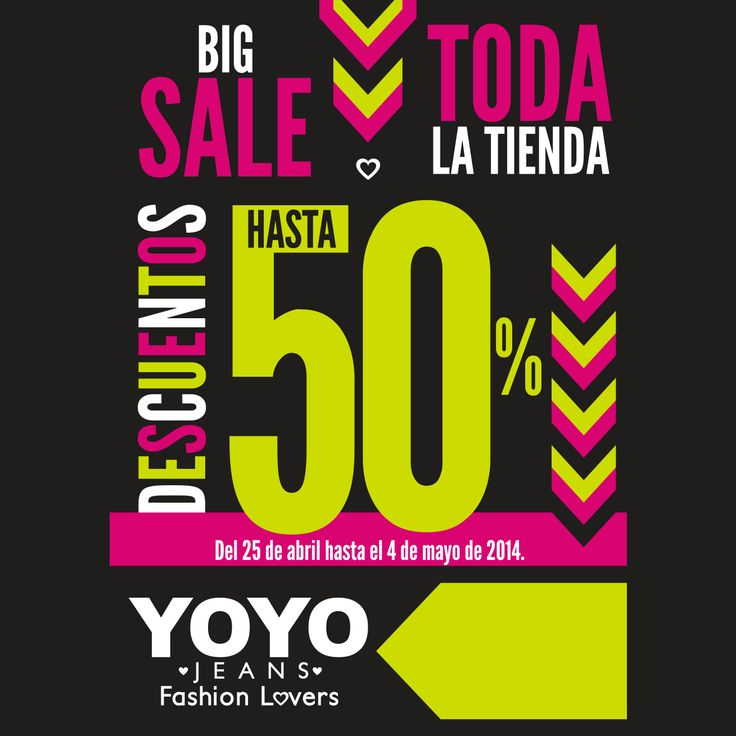 #sale #girl #fashion #moda #cccuartaetapa #Promocion Yoyo Local 106B