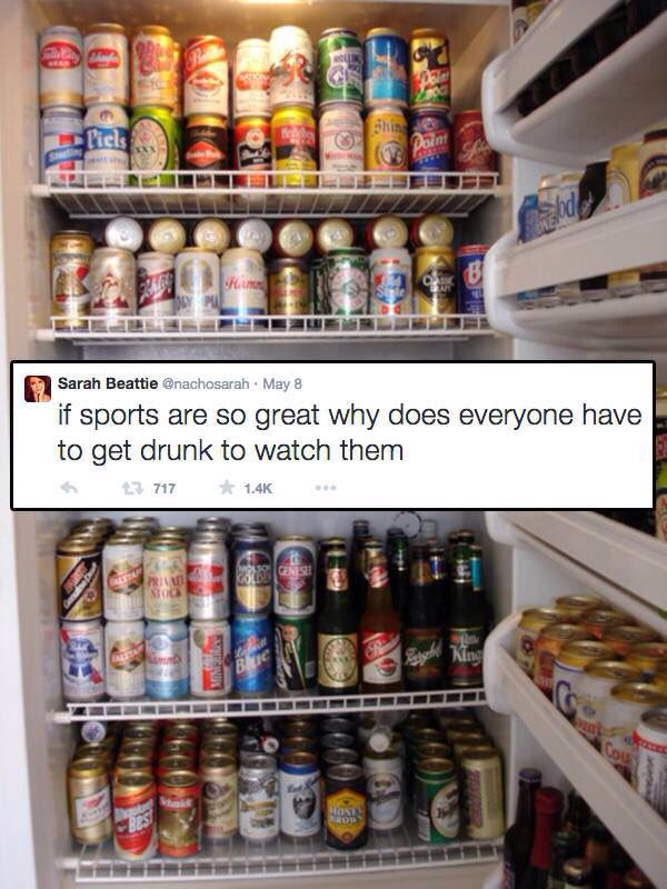 Humour drunk sports