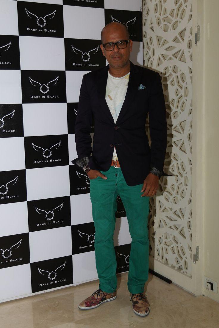 Narendra Kumar Ahmed at Bare in Black Launch.
