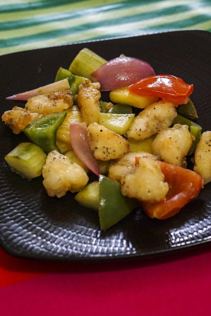 Poisson aigre doux for Cuisine mauricienne