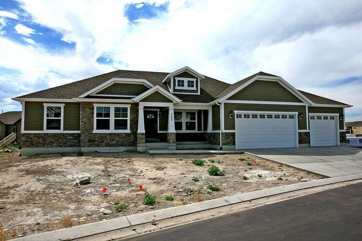 3 bedroom rambler floor plan for your new Utah home, the