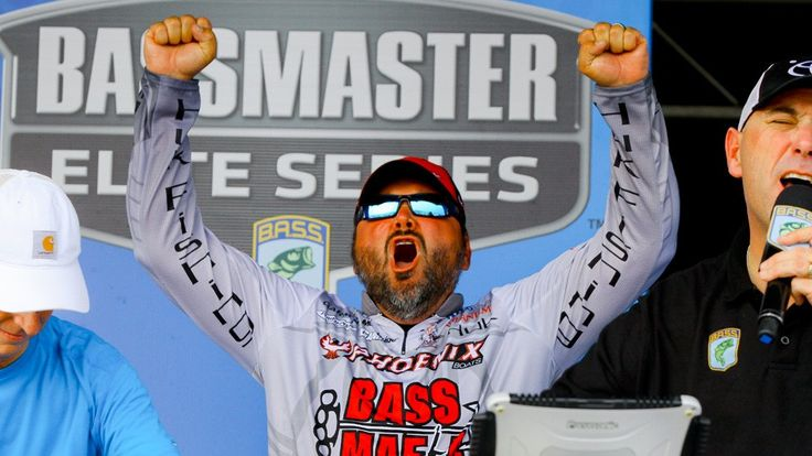 Greg Hackney wins BassFest on Lake Texoma- June 12,2016- With a weight of 66lbs 2oz