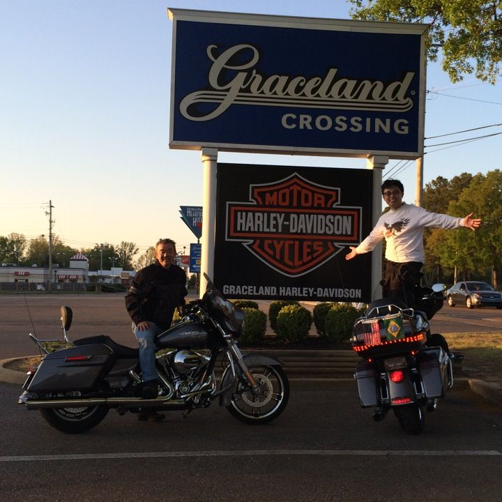 graceland harley-davidson in memphis, tn - this is a really cool