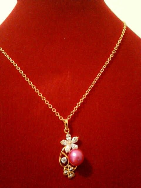 Fresh water pearl necklace, $19.00