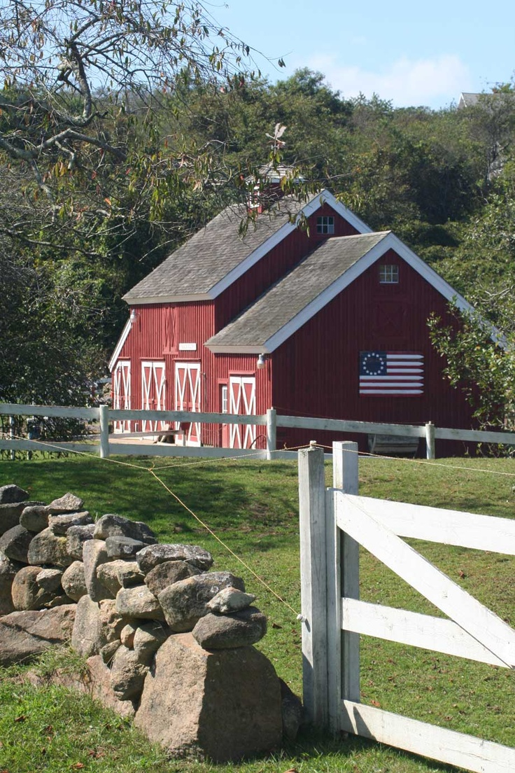 I took this on a trip to Block Island, Rhode Island. It is supposed to be the most photographed barn in Rhode Island. - Sarah Mooring