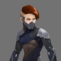Viking Hunter  by Tyler Ryan on ArtStation.