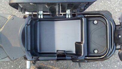 Honda-Ruckus-Under-Seat-Storage-Container-Cargo-Bin-Lowered-Drop-Seat-Tray