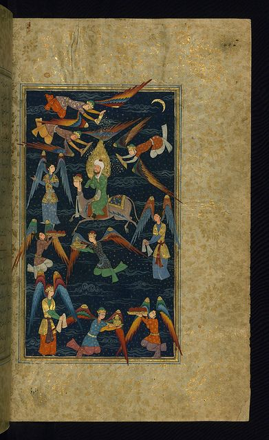 Five poems (quintet), Walters Art Museum Ms. W.607, fol. 4b by Walters Art Museum Illuminated Manuscripts, via Flickr