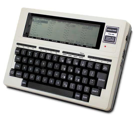 trs80- Modelo 100