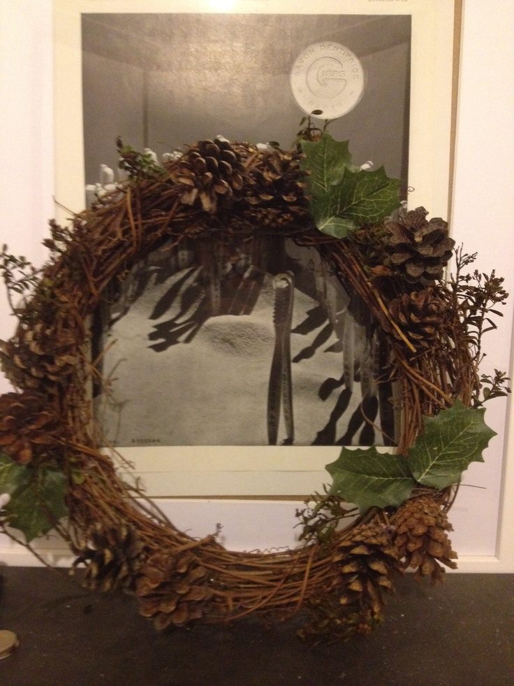 17 Best images about Natural Christmas wreaths on ...