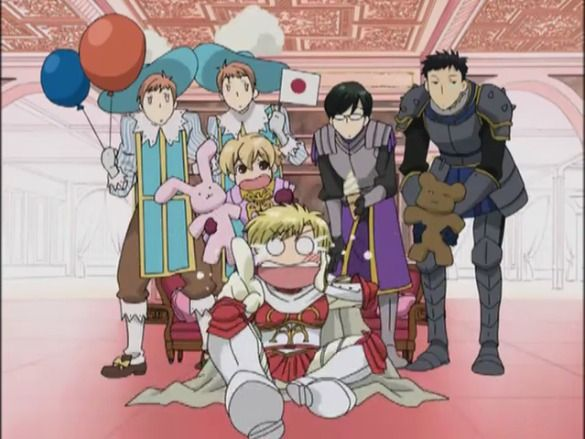 Ouran High School Host Club Episode 9 English Dubbed Tamaki got punched! :P