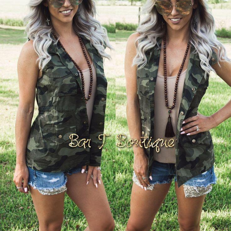Military Vest ~ Camo